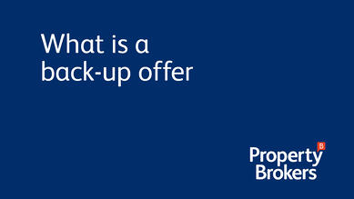 What is a back-up offer