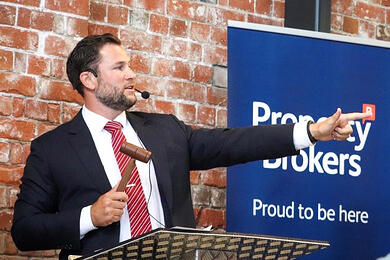 Gisborne property auction draws in crowds