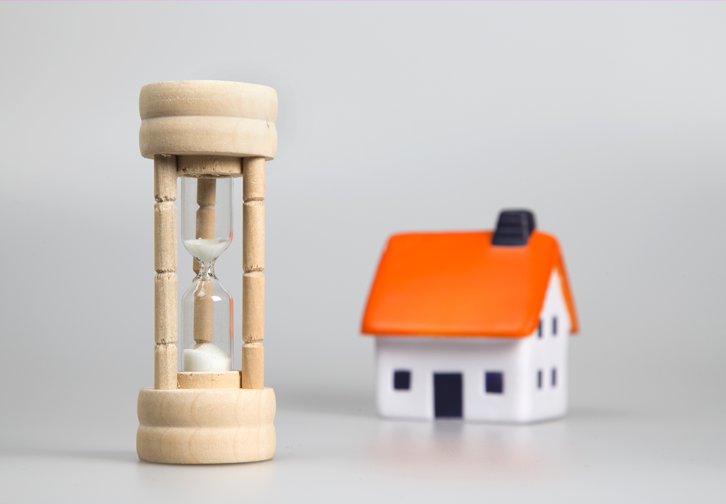 How long should your property be on the market for?