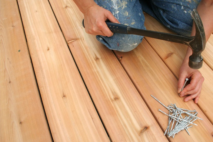 Adding value to your home by building a deck