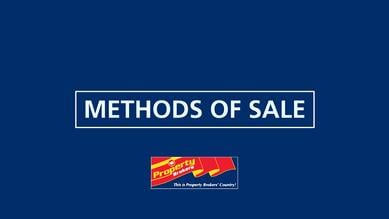 Methods of Sale